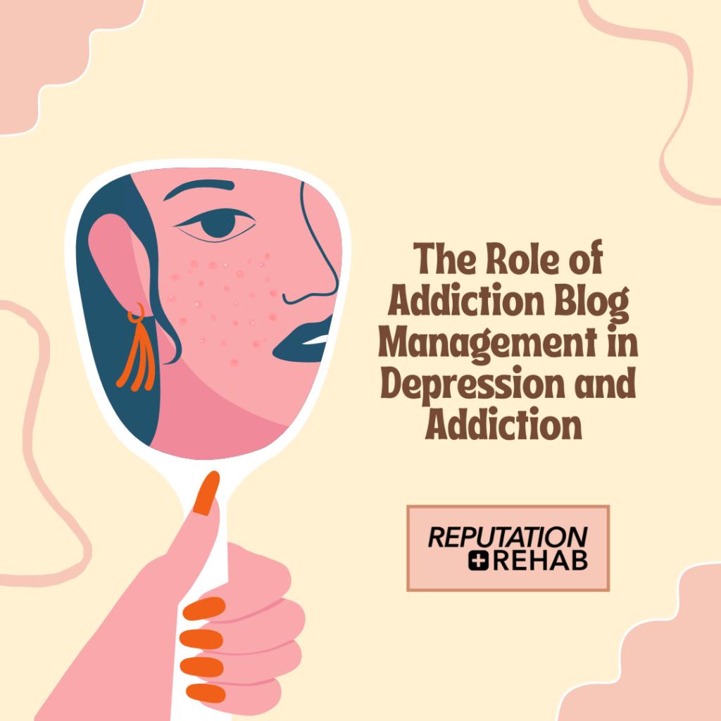 addiction blog management