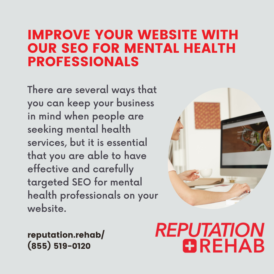 seo for mental health professionals