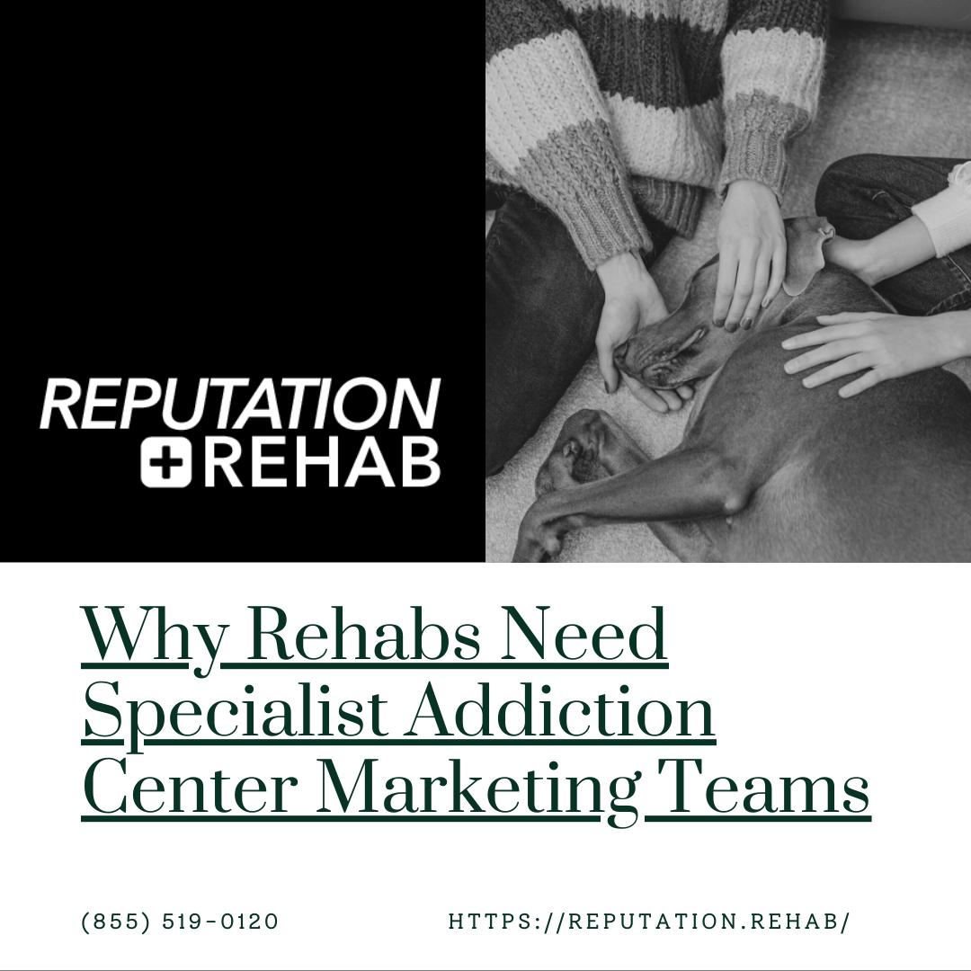 addiction center marketing